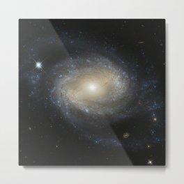 Barred Spiral Galaxy NGC 4639 Metal Print