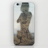 middle earth iPhone & iPod Skins featuring Middle Earth by Karen