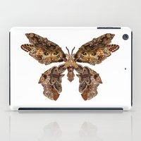 moth iPad Cases featuring moth by Marie Lisborg