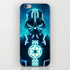 Tron Vader Blue iPhone & iPod Skin