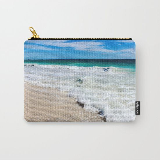 Tulum Waves Carry-All Pouch