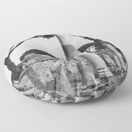 Ostia ruins Rome Italy Floor Pillow
