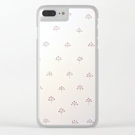 Winterberries Clear iPhone Case
