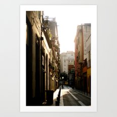 Warm Afternoons Art Print