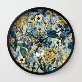 Summer Botanical Garden III Wall Clock
