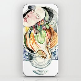 The Hourglass iPhone Skin