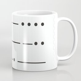 Stamp series - Morze Coffee Mug