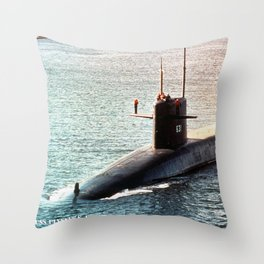 USS ULYSSES S. GRANT (SSBN-631) Throw Pillow