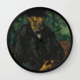 Paul Cézanne - The Gardener Vallier Wall Clock