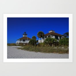Boca Grande Lighthouse I Art Print