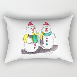 Christmas The Joys of Smiles Rectangular Pillow