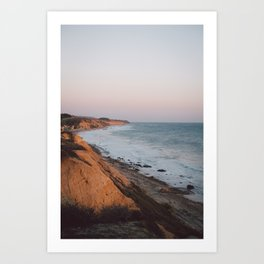 Crystal Cove Art Print