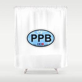 Point Pleasant Beach - New Jersey. Shower Curtain