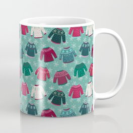 Winter Fair Isle Coffee Mug
