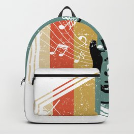 Colorful Bass Guitar Backpack