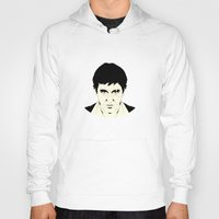 scarface Hoodies featuring Scarface by Renan Lacerda