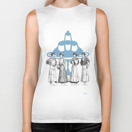 old fashioned cooking Biker Tank