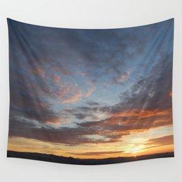 Sinking sun Wall Tapestry