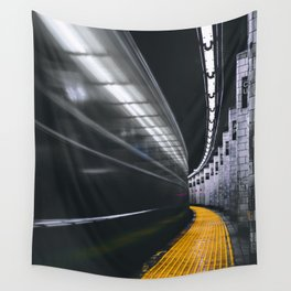 The Subway (Color) Wall Tapestry
