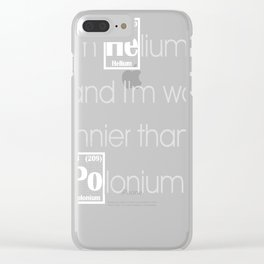 He vs Po Clear iPhone Case