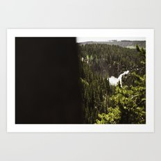 yellowstone falls . ii Art Print