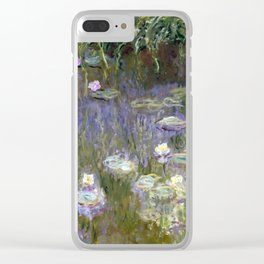 """Claude Monet """"Water lilies""""(2) Clear iPhone Case"""