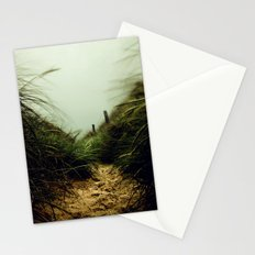 path through the dunes Stationery Cards