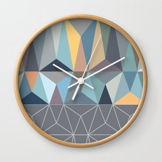 Nordic Combination 31 Wall Clock