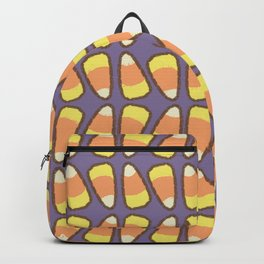 Candy Corn Tango in Violet Backpack