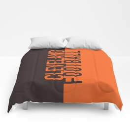 Cleveland Football Comforters