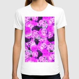 Golden Girls Toss in Electric Pop Pink T-shirt
