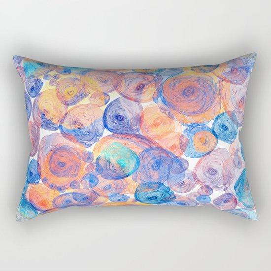 Floral abstract(44) Rectangular Pillow