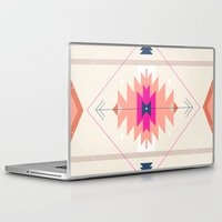 kilim Laptop & iPad Skins featuring Kilim Inspired by Nayla Smith