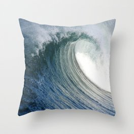 Hollow Dayz * Huntington Beach Pier Throw Pillow
