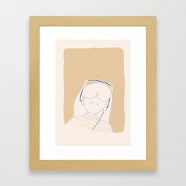Playlist Framed Art Print