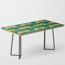 The New Animal Print - Emerald Coffee Table