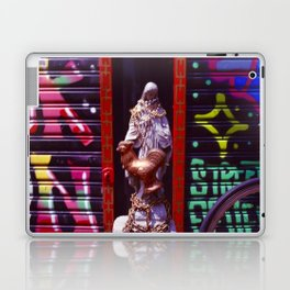 Matriarch of Punk Alley Laptop & iPad Skin