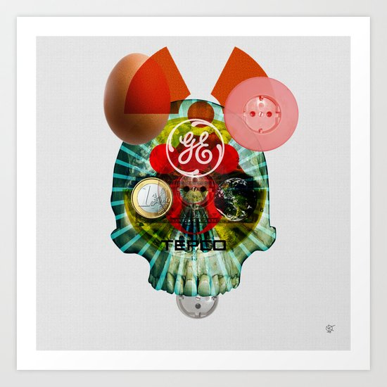 Radiation Easter Art Print