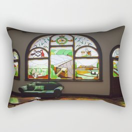 Bathed in Light Rectangular Pillow