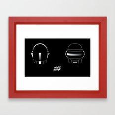Daft Punk (Poster) Framed Art Print