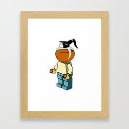 Leggo my coffee Framed Art Print