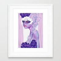 moth Framed Art Prints featuring MOTH by OSKAR V.