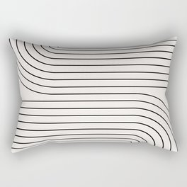 Minimal Line Curvature I Rectangular Pillow