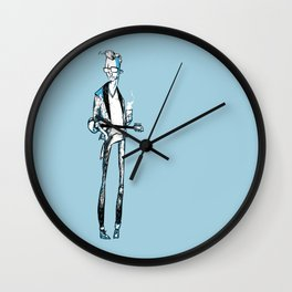 Mike Hind Wall Clock