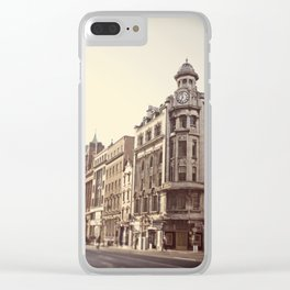 Morning in Dublin Clear iPhone Case