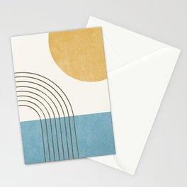 Sunny ocean Stationery Cards