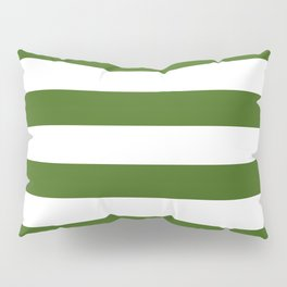 Simply Stripes in Jungle Green Pillow Sham