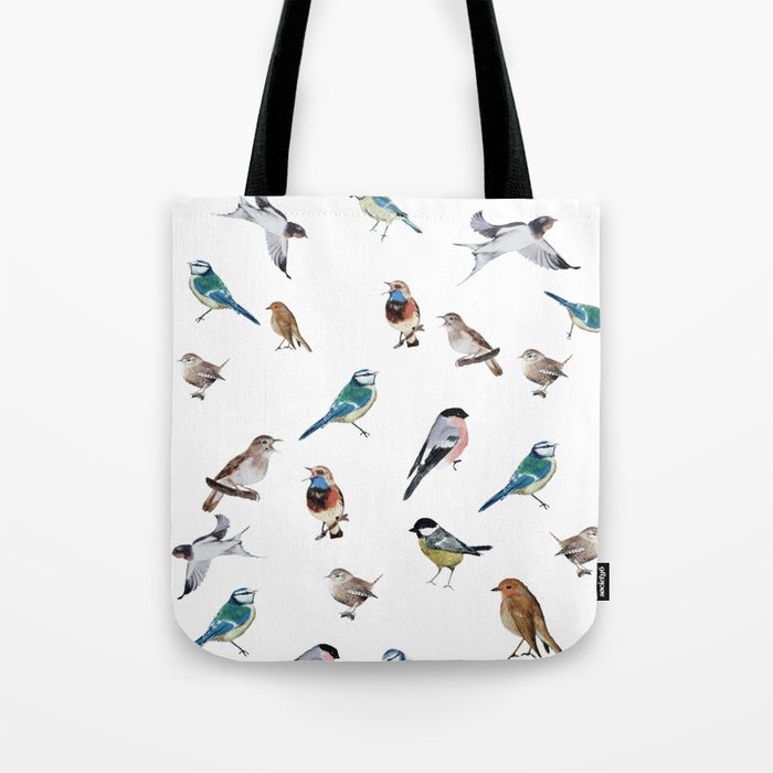 I love birds Tote Bag