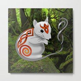 Mouse Metal Print