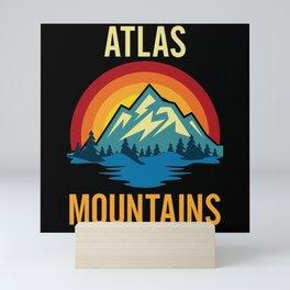 Atlas Mountains Sunset Mini Art Print